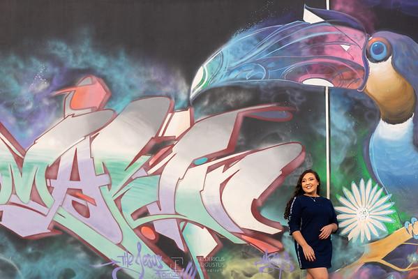 Ensaio de 15 anos na Praça da Jabuticaba da Debora