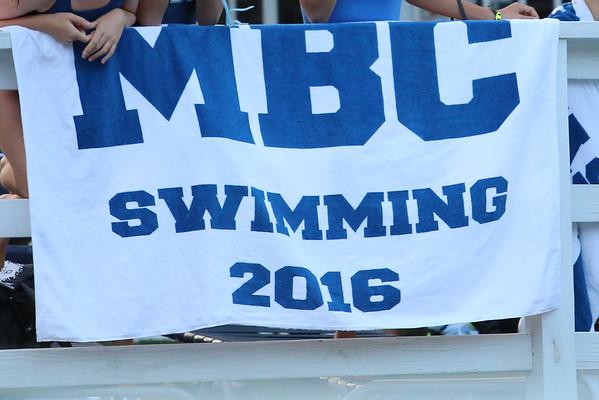 2016 MBC Swim Team