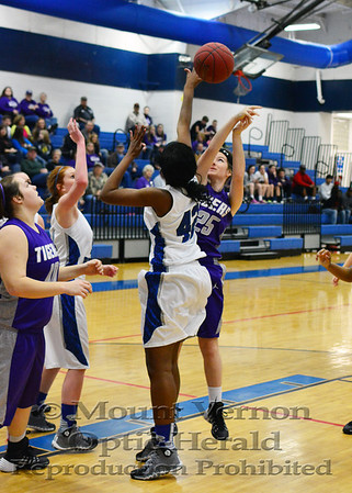 Varsity Lady Tigers vs Rivercrest Lady Rebels 1-31-14