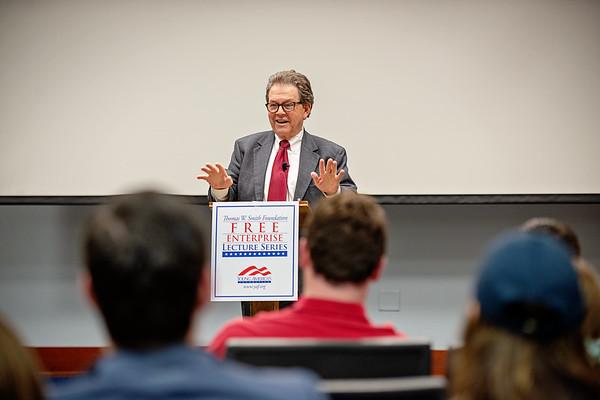 4/24/19 YAF Dr. Art Laffer at Penn State University