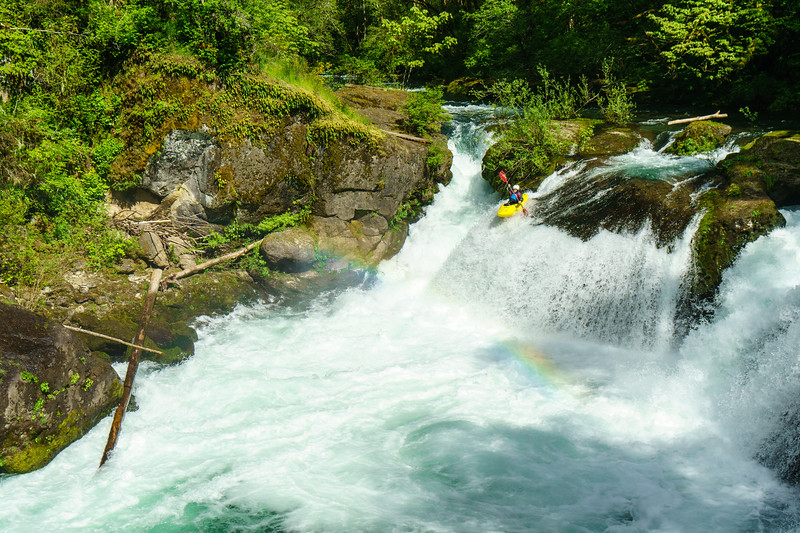 Daphnee Tuzlak demonstrates why the East Fork Lewis in Washington is such a classic.