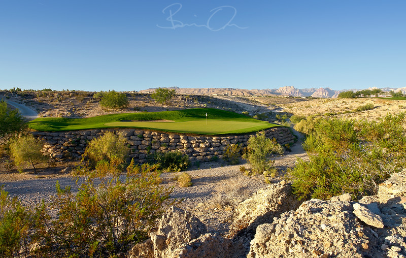 TPC Las Vegas Golf Photography