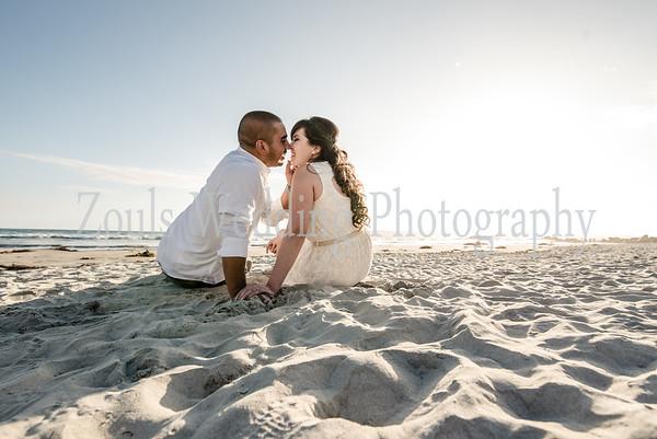 Berenice & Jonathan in Coronado