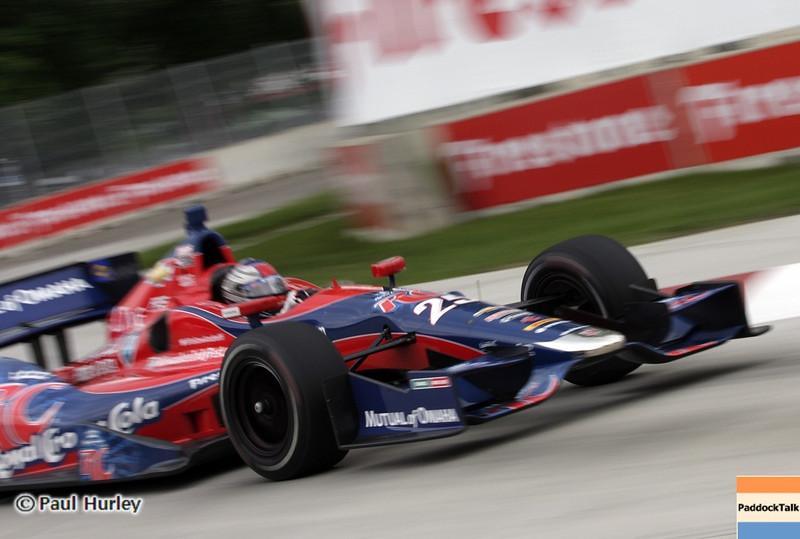 June 2: Marco Andretti during the Chevrolet Detroit Belle Isle Grand Prix.