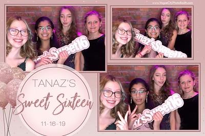 Tanaz's Sweet 16 - 11.16.19