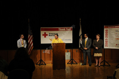 25455 Red Cross - Univeristy of the Year announcement