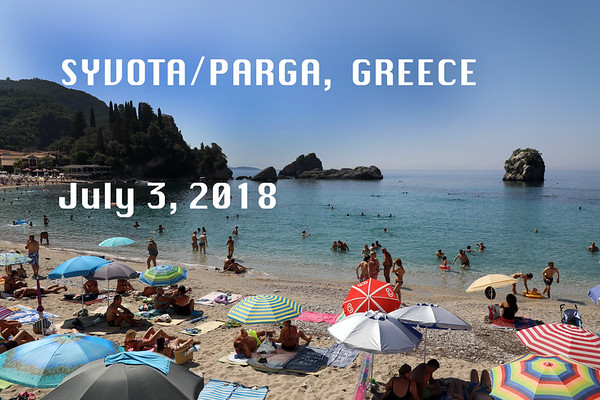 Syvota/Parga July 3, 2018