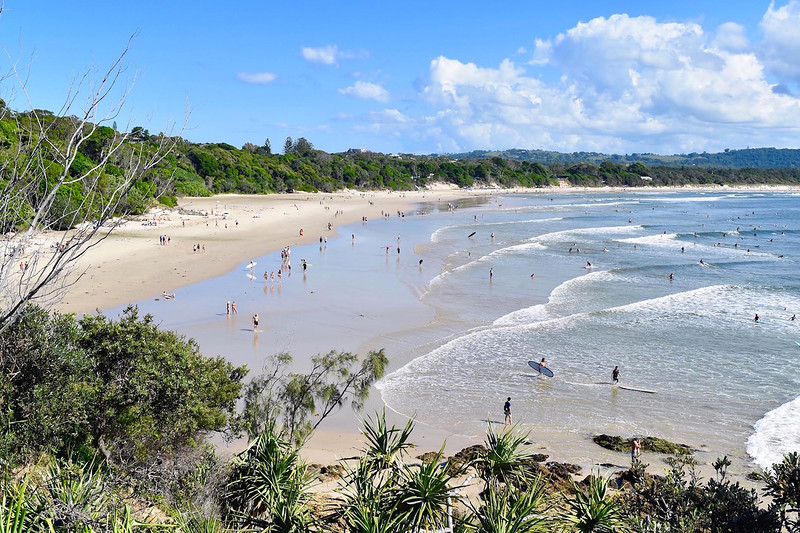 byron bay beach
