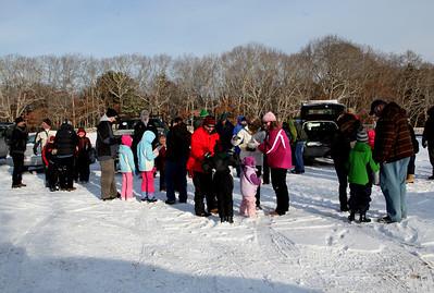 Quinn School Animal Track Walk at Destruction Brook Woods