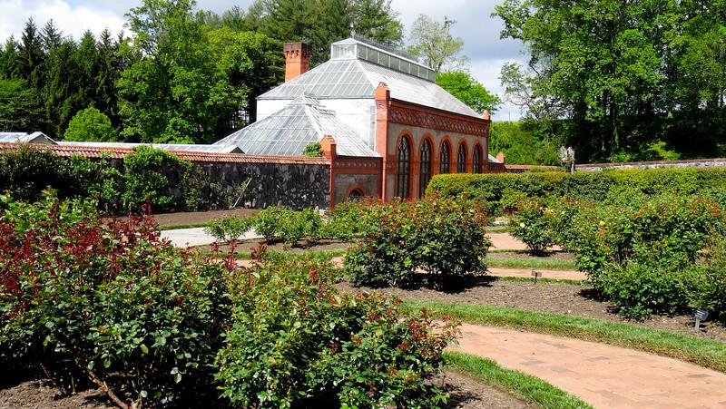 The greenhouse at Biltmore
