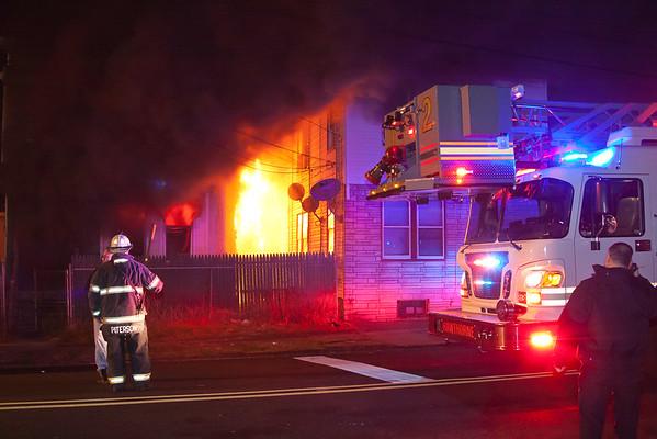 Paterson NJ 3rd alarm, 195 &197 5th Ave. 12-18-14
