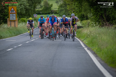 Welsh Cycling Road Race Championships - Lap 2 at 37 Miles