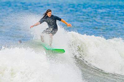 Surfing Lincoln Beach Long Beach 7-4-21