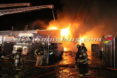 East Farmingdale Fire Co. Working General Alarm 124 Marine St. 3-17-15
