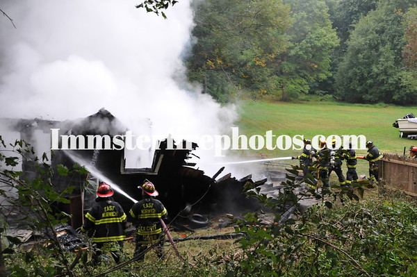 EAST NORWICH RTE 106 BARN FIRE