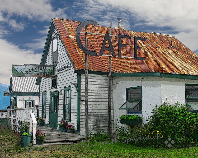 Seaview Cafe, Hope, Alaska