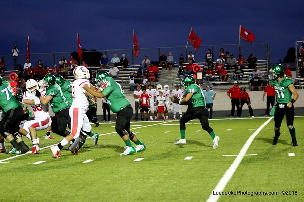 Burnet Homecoming 1st quarter
