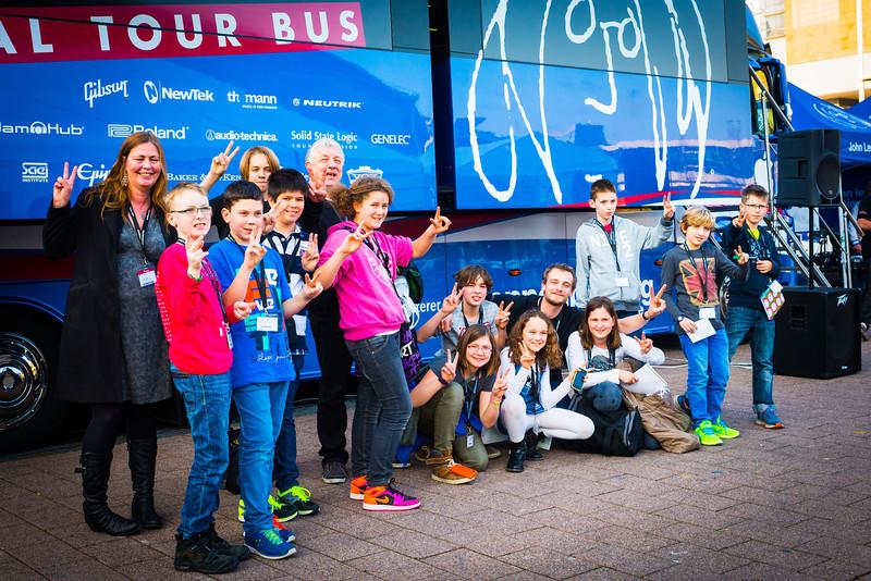2014_03_13, Frankfurt, Germany, Messe Frankfurt, MusikMesse, Bus, eu.lb.org