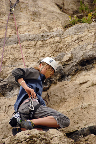 Rock Climbing - Portland, Dorset, England.