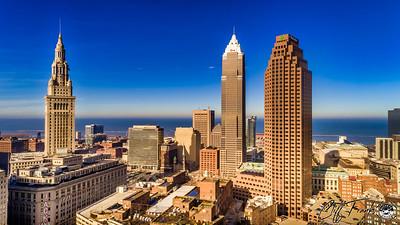 1-4-2018 Cleveland Skyline