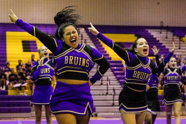 Cheer: District Semi-Finals 10/8/18