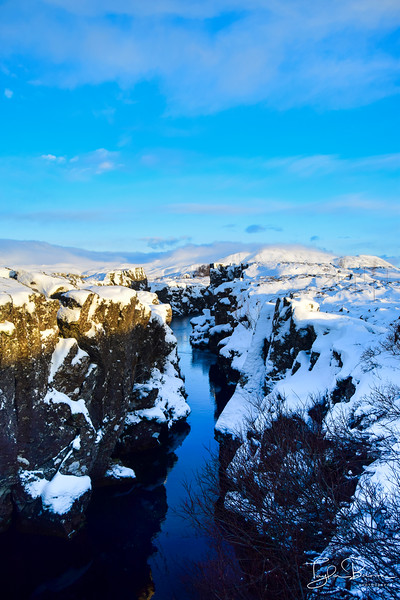THINGVELLIR CREEK, ICELAND 2016