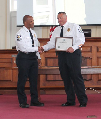 Norristown Police Recognition Ceremony