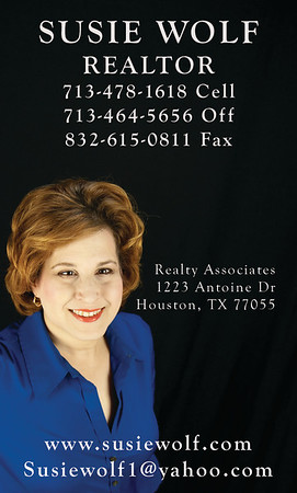 Susie Wolf business cards