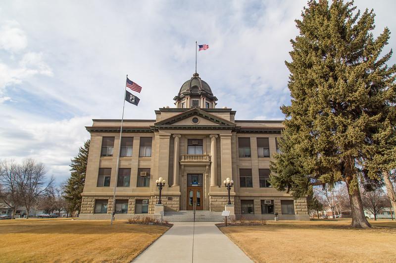 Rosebud Co Court House