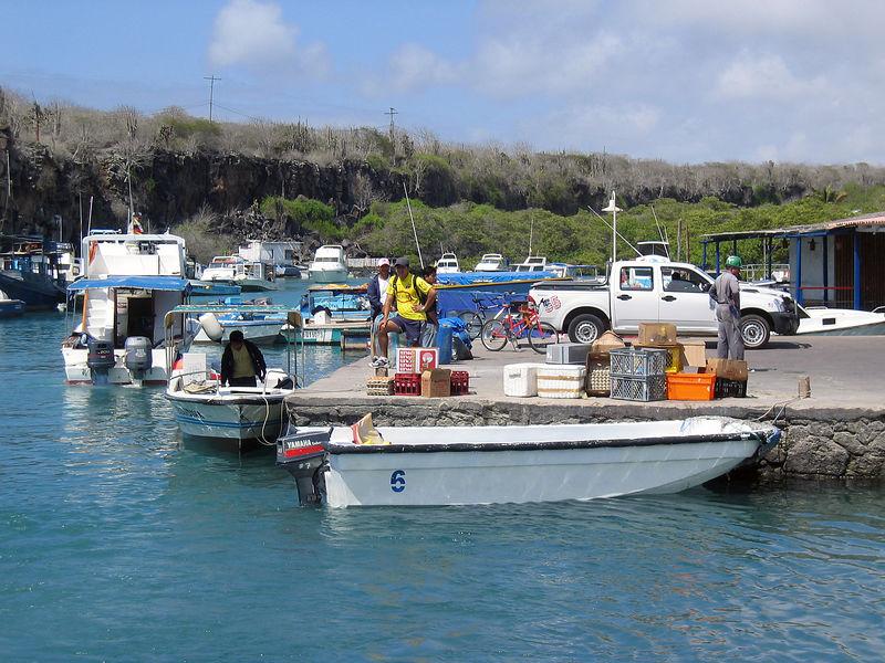 Puerto Ayora Waterfront   (Dec 11, 2005, 10:30am)