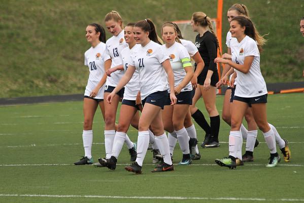 EHS  Girls Soccer 2018 Playoff - Round 1 vs. Erie