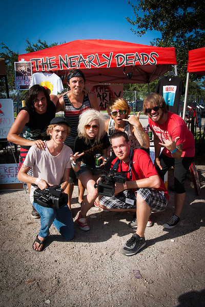 2012_07_29, Creative Allies, FL, lb.org, Music Festival, SAE, Students, The Nearly Deads, Vans Warped Tour 2012, West Palm Beach