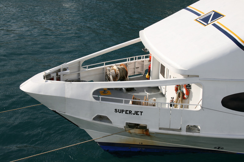 2008 - HSC SUPERJET in Capri : operating station.