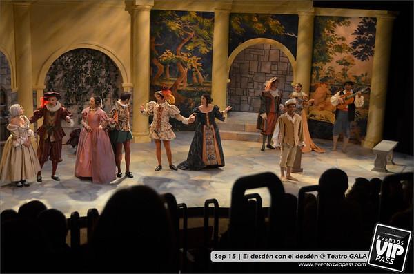 El desdén con el desdén - Teatro GALA | Sat, Sep 15