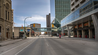 Empty Streets during the Covid - April 21, 2020