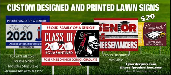 Senior Year Signs