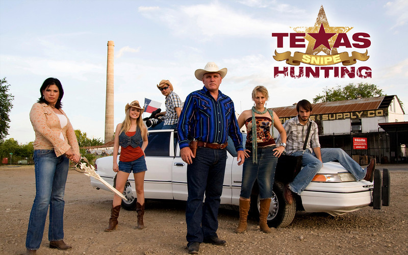 The entire cast of the 'Texas Snipe Hunting' series.