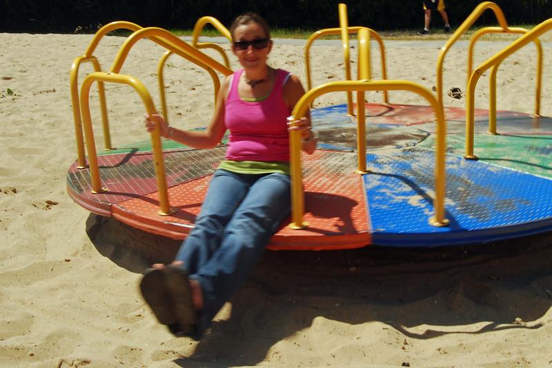 1345 Kristen on Cheboygan merry go round.jpg