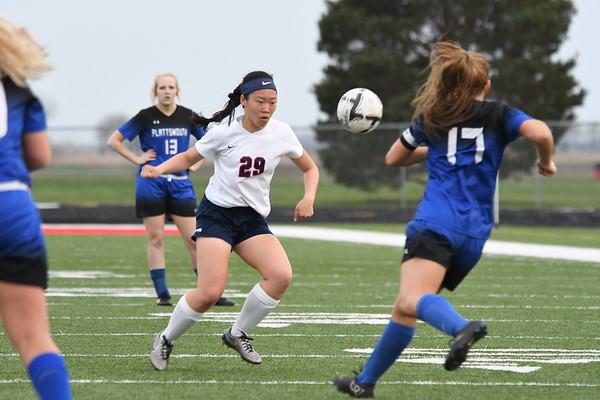 Varsity Girls Soccer vs Plattsmouth
