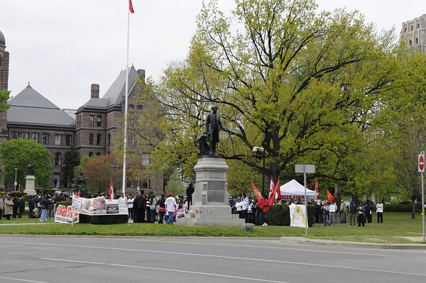 May 11th Protest Toronto
