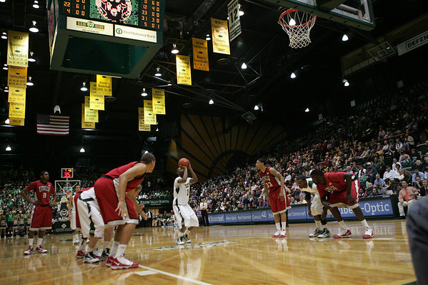 CSU vs. UNLV Men's BB 2010