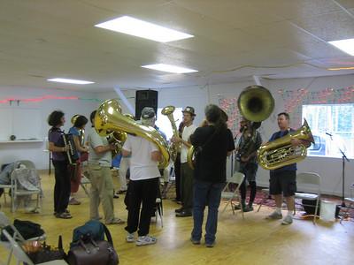 Brass Band at 2008 Balkan camp