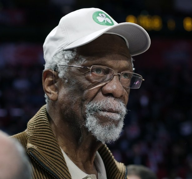 """. <p>6. BILL RUSSELL <p>Loaded gun probably no big deal, considering how rarely he shot during his career. (unranked) <p><b><a href=\'http://boston.cbslocal.com/2013/10/19/celtics-legend-bill-russell-arrested-for-carrying-gun-in-airport/\' target=\""""_blank\""""> HUH?</a></b> <p>    (AP Photo/Eric Gay, File)"""