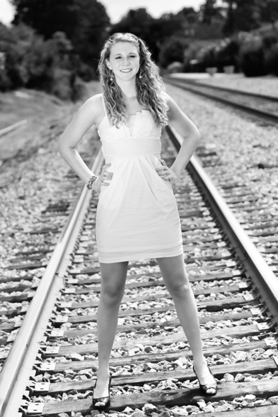The Black and White Collection - Train Tracks