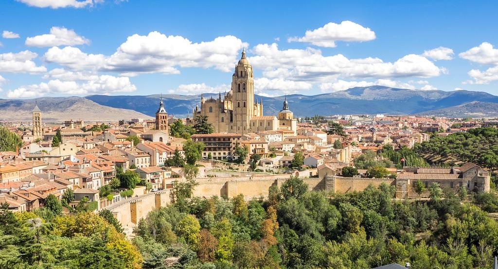 Segovia, Spain skyline