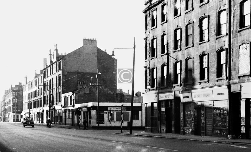 Gallowgate, south side at Abercromby St. 
