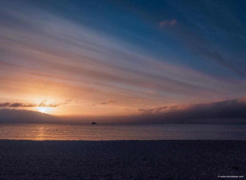 Sunrise over Copenhagen