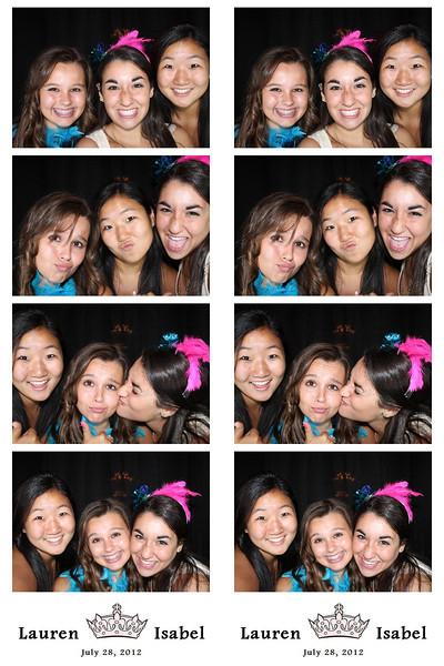 Lauren & Isabel July 28, 2012