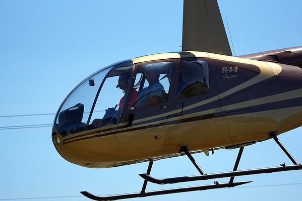 Guy & Girl's Helicopter Ride at Sawmill Creek  7-10-2016