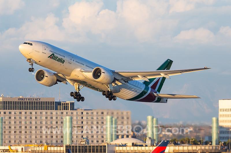 Alitalia 777-200ER - I-DISU - LAX